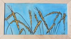"""Ripe Wheat"" | 9"" x 16"" | $105"
